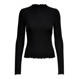 ONLEMMA L/S HIGH NECK TOP NOOS ONLY Accueil