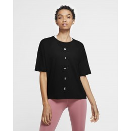 W NK DRY SS TOP OVERSIZE NK GR NIKE Accueil