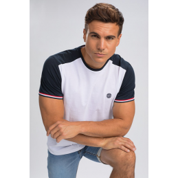 TRICOLORE T-SHIRT SHAL-BENSON AND CHERRY HOMME