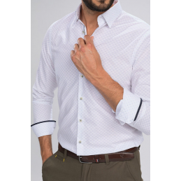 CLASSIC CHEMISE ML SHAL-BENSON AND CHERRY HOMME