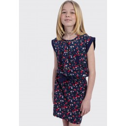 GIRL WOVEN DRESS KAPORAL Accueil