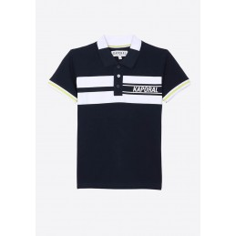 BOY KNITTED SHORT SLEEVED POLO KAPORAL GARCONS
